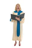 Female Choir Member 4 Royalty Free Stock Photos