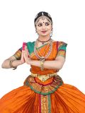 Female classical dancer from asia Royalty Free Stock Images