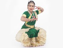 Female classical dancer from asia Royalty Free Stock Photos