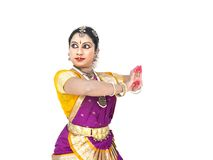 Female classical dancer from asia stock photography