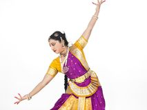 Female classical dancer from asia Stock Photos