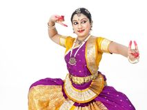 Female classical dancer from asia Stock Images