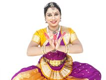 Female classical dancer from asia Royalty Free Stock Photography