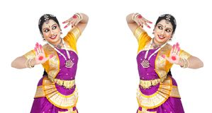 Female classical dancer from asia Royalty Free Stock Photo