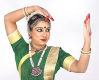 Female classical dancer from india Stock Photography