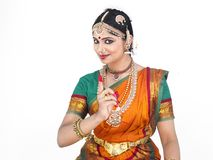 Female classical dancer from india Stock Image
