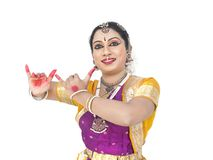Female classical dancer from india Stock Photo
