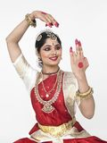 Female classical dancer from india Stock Images
