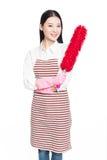 Female cleaner Stock Image