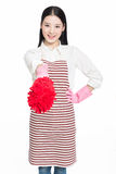 Female cleaner Royalty Free Stock Photos