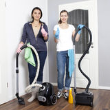 Female cleaning company Royalty Free Stock Photography