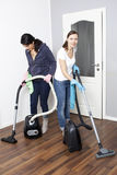 Female cleaning company Royalty Free Stock Photos