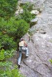 Female climber Stock Photos