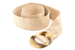 Female cloth belt Royalty Free Stock Image