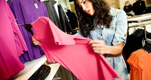 Female clothes shop Royalty Free Stock Photography