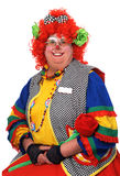 Female Clown Smiling Stock Photos