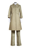 Female coat and trousers Royalty Free Stock Photography