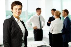 Female colleague Royalty Free Stock Images