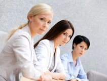 Female colleagues Royalty Free Stock Photography