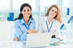 Female colleagues Royalty Free Stock Images