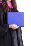 Female college graduate Royalty Free Stock Images