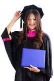 Female college graduate Royalty Free Stock Photo