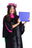 Female college graduate Royalty Free Stock Image
