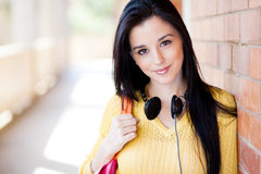Female college student Royalty Free Stock Photo