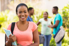 Female college student Royalty Free Stock Image