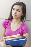 Female college student Royalty Free Stock Images