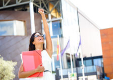 Female college student success Stock Image