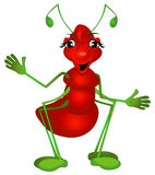 Female comic ant Stock Photo