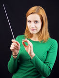 Female conductor Stock Photos