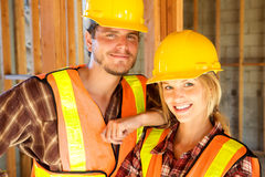 Female Constructin Worker Stock Photography