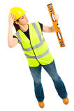Female Construction Stock Photography