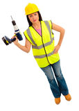 Female Construction Stock Images