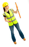 Female Construction Royalty Free Stock Photo