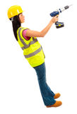 Female Construction Royalty Free Stock Image