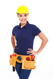 Female contractor Stock Photography