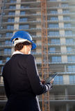 Female construction specialist Stock Photos