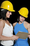 Female Construction Supervisors Stock Photos