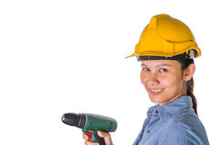 Female Construction Worker I Stock Photography