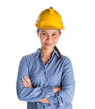 Female Construction Worker II Stock Image