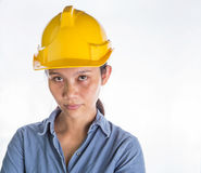 Female Construction Worker III Royalty Free Stock Photography