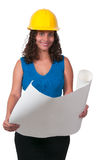 Female Construction Worker Royalty Free Stock Photos