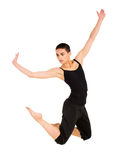 Female contemporary dancer Royalty Free Stock Photos