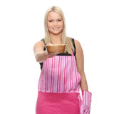 Female cook Royalty Free Stock Photo