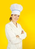 Female cook Royalty Free Stock Photos