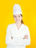 Female cook Stock Photos