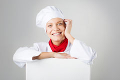 Female cook Royalty Free Stock Images